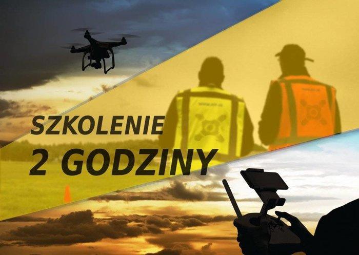 Szkolenie z podstaw latania oraz obsługi drona (2 godziny)