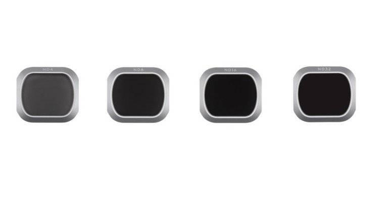 Zestaw filtrów ND 4/8/16/32 do DJI Mavic 2 Pro