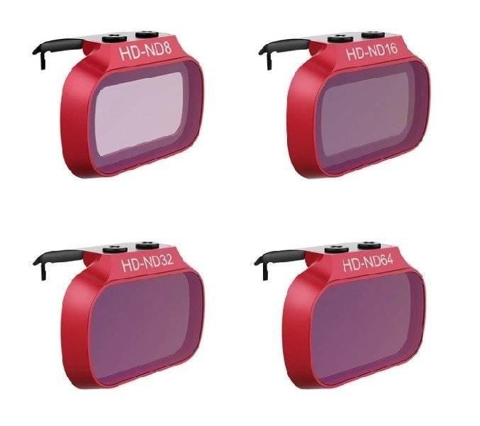 Zestaw filtrów ND 8/16/32/64 PGYTECH do DJI Mavic Mini / Mini 2